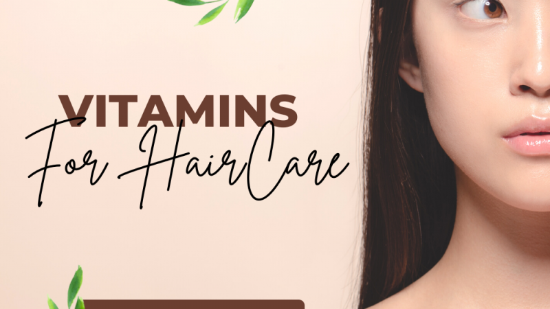 Role of vitamins in hair growth